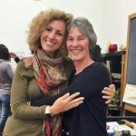 Rita Aleluia com Judith Delozier