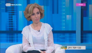 Rita Aleluia no programa Madeira Viva, da RTP Madeira, Episódio 43
