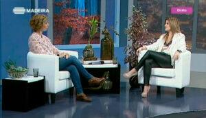 Rita Aleluia no programa Madeira Viva, da RTP Madeira, Episódio 53