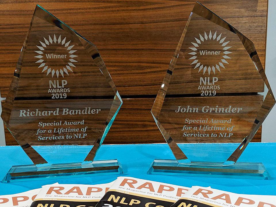Prémios John Grinder e Richard Bandler nos 2019 NLP Awards