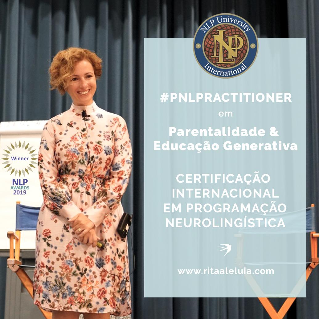 Rita Aleluia junto painel de Certificação Internacional em PNL e Mudança Generativa