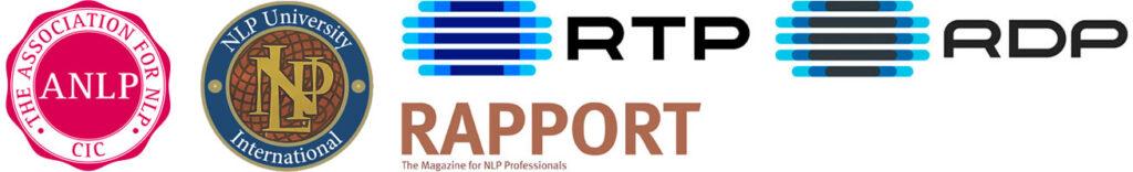 Logotipos de entidades onde Rita Aleluia está referênciada.