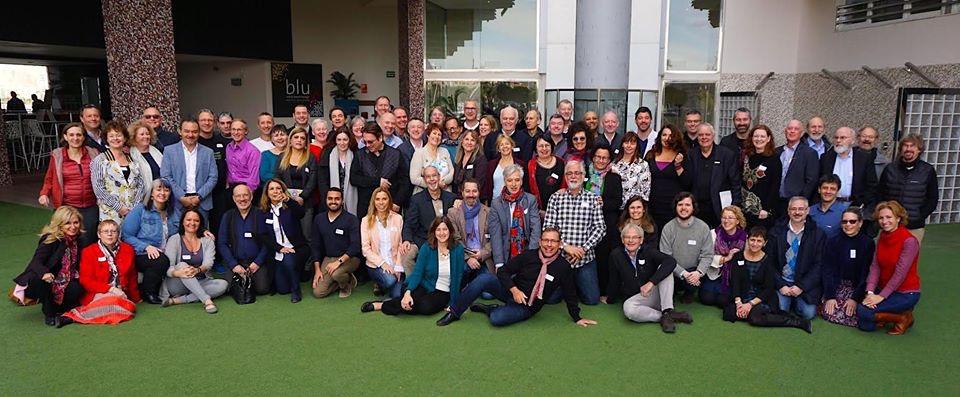 Fotografia de grupo no NLP Leadership Summit