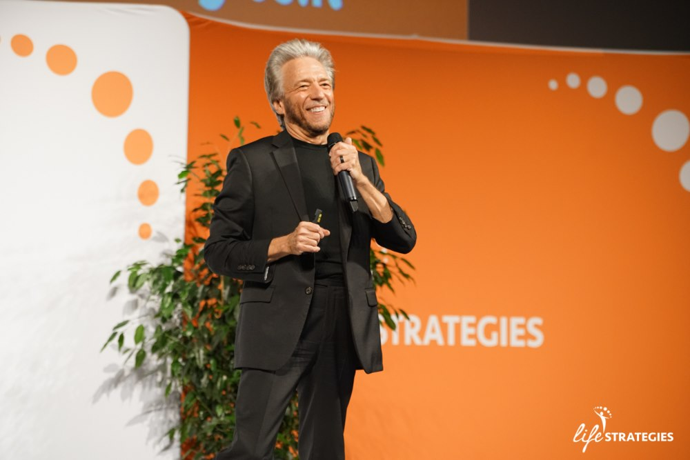 Gregg Braden no evento Life Strategies, em Roma