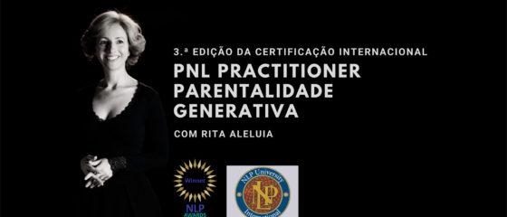 Terceira certificação internacional PNL Practitioner Parentalidade Generativa, em Lisboa