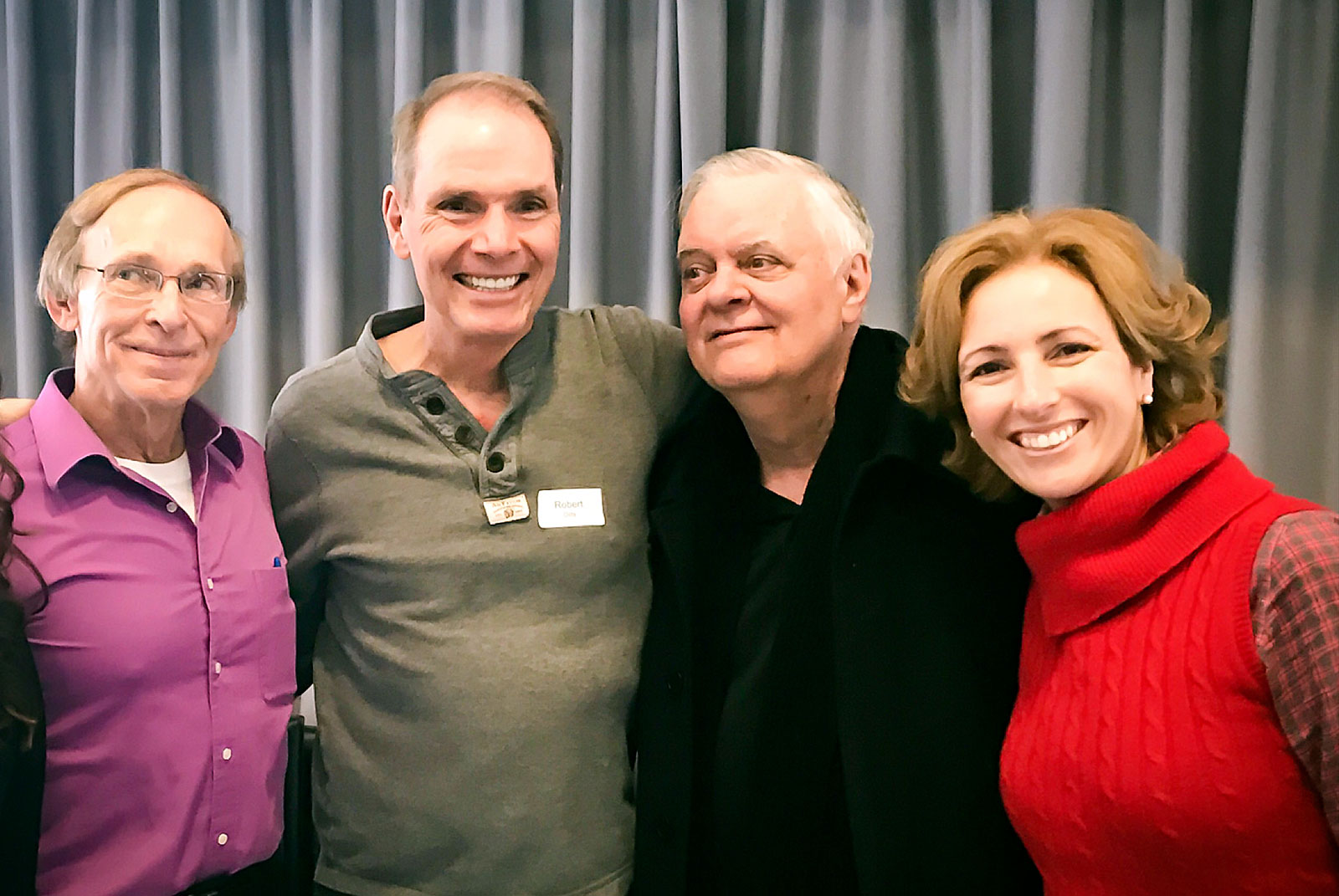 Rita Aleluia com Robert Dilts e outos, durante o NLP Leadership Summit