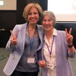Rita Aleluia com Judith DeLozier num congresso de PNL